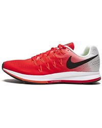 Nike Air Zoom Pegasus 33 Shoes - Size 11 - Red