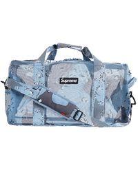 Supreme Big Duffel Bag 'ss 20' - Blue