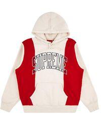Supreme - Paneled Arc Hoodie Sweatshirt 'fw 19' - Lyst