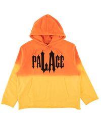 Palace La Hippy Hoodie Sweatshirt - Orange