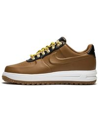 Nike Lunar Force 1 Duckboot Low - Size 8.5 - Brown