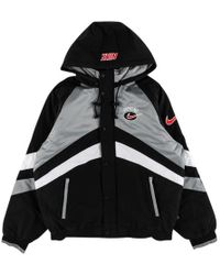 ef84a85b Supreme Puffy Hockey Pullover Jacket in White for Men - Lyst