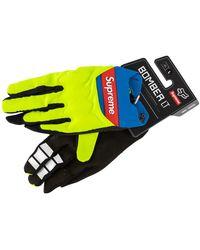 Supreme Fox Racing Bomber Lt Gloves 'ss 18' - Blue