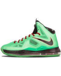 a02e8fa35b8b Nike Lebron 12 Christmas in Green for Men - Lyst