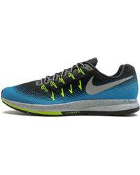Nike Air Zoom Pegasus 33 Shield Shoes - Size 15 - Black