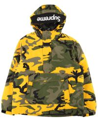 Supreme - Hooded Logo Half Zip Pullover - Lyst
