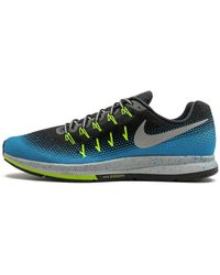 Nike Air Zoom Pegasus 33 Shield Shoes - Size 15 - Black