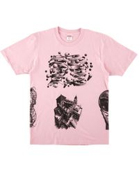 ffa3f092ba76 Supreme M.c. Escher Eye Longsleeve T-shirt in Black for Men - Save ...