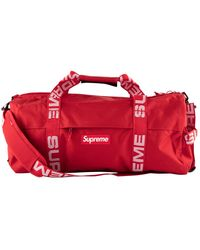 "Supreme Duffle Bag ""ss 18"" - Red"