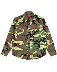 Supreme - Silk Camo Shirt 'ss 19' - Lyst