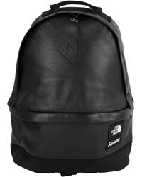 Supreme - Tnf Leather Backpack - Lyst