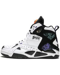 0666d0eb2f3 Reebok Blacktop Battleground High-Top Sneaker in White for Men - Lyst