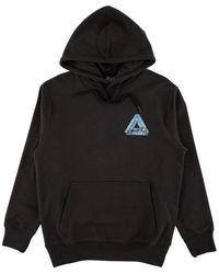Palace La Hoodie Sweatshirt - Black