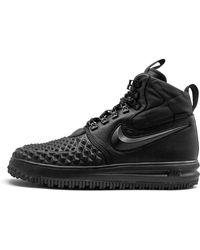 Nike Lunar Force 1 Duckboot 17 'triple Black' - Size 9