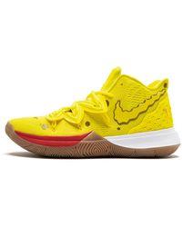 """Nike Kyrie 5 """"spongebob Squarepants"""" - Yellow"""