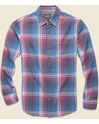 Grayers Yarmouth 3-ply Jaspe Flannel - Violet/gray/blue