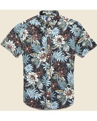 Reyn Spooner Vintage Hawaiian Floral Shirt - Black
