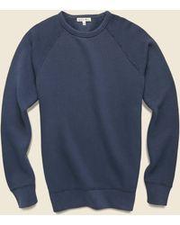 Alex Mill French Terry Sweatshirt - Navy - Blue