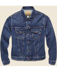 RRL Denim Jacket - Stillwell Wash - Blue