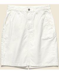 Carhartt WIP Armanda Skirt - White