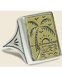 LHN Jewelry - Paradise Ring - Brass/silver - Lyst