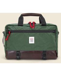 Topo Commuter Briefcase - Green