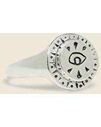 LHN Jewelry All Seeing Eye Ring - Metallic