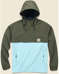 Carhartt WIP Nimbus Two Tone Pullover - Cypress/soft Aloe - Green
