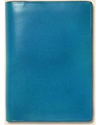 Il Bussetto Bi-fold Card Case - Blue