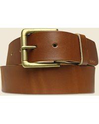 Billykirk Roller Bar Belt - Tan - Brown