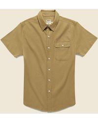Bridge & Burn Marten Shirt - Camel - Natural