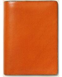 Il Bussetto Bi-fold Card Case - Orange