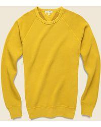Alex Mill French Terry Sweatshirt - Honey Mustard - Yellow