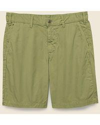 Save Khaki 8-inch Twill Bermuda Short - Olive Drab - Green