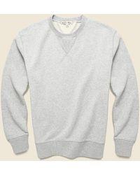 Alex Mill - Crewneck Sweatshirt - Heather Grey - Lyst