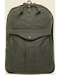 Filson Tin Cloth Journeyman Backpack - Otter Green