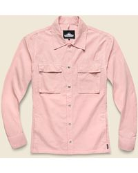 Penfield Oakledge Overshirt - Orchid - Pink