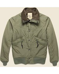 Monitaly Vancloth Short Field Jacket - Olive - Green