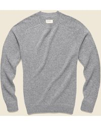 Life After Denim Columbia Cashmere Sweater - Heather Gray