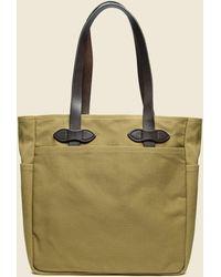 Filson Rugged Twill Tote Bag - Green