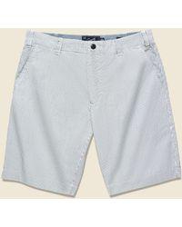 Grayers Maidstone Ticking Stripe Short - Navy/white