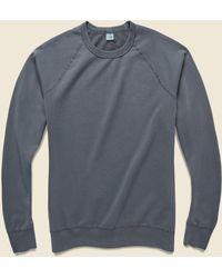 Save Khaki Supima Fleece Sweatshirt - Metal - Gray