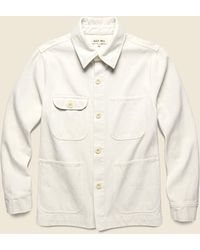 Alex Mill Upcycled Cotton Work Jacket - White