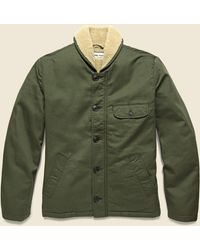 Universal Works N1 Jacket - Military Olive - Green