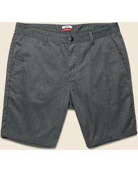 Katin Court Short - Black Wash