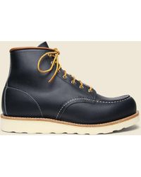 "Red Wing 6"" Moc Toe No. 8859 - Navy Portage - Blue"