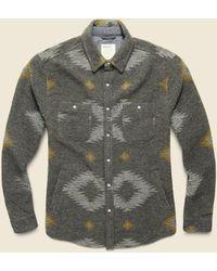 Life After Denim Warrior Shirt Jacket - Heather Charcoal - Gray