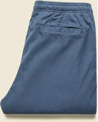 Save Khaki Light Twill Easy Chino - Blue