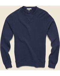 Alex Mill French Terry Crew Sweatshirt - Navy - Blue