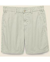 Save Khaki 8-inch Twill Bermuda Short - Cement - Multicolor